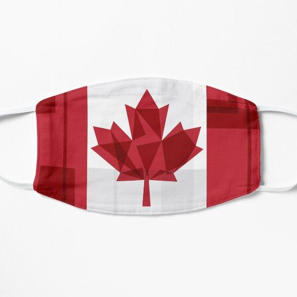 O Canada Flat Mask