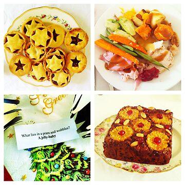 Christmas food by Robotmangreg