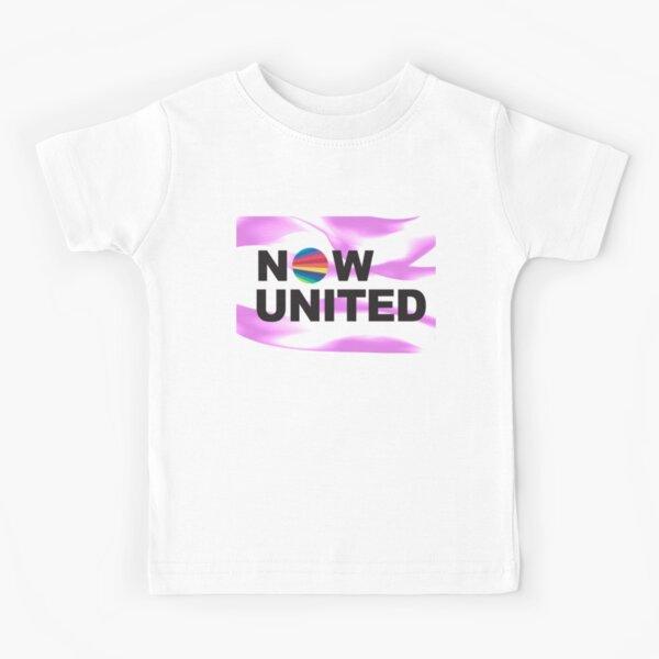 MAINTENANT UNITED fumée violette T-shirt enfant