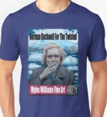 Myles Williams Fine Art - Red Spectacles Unisex T-Shirt