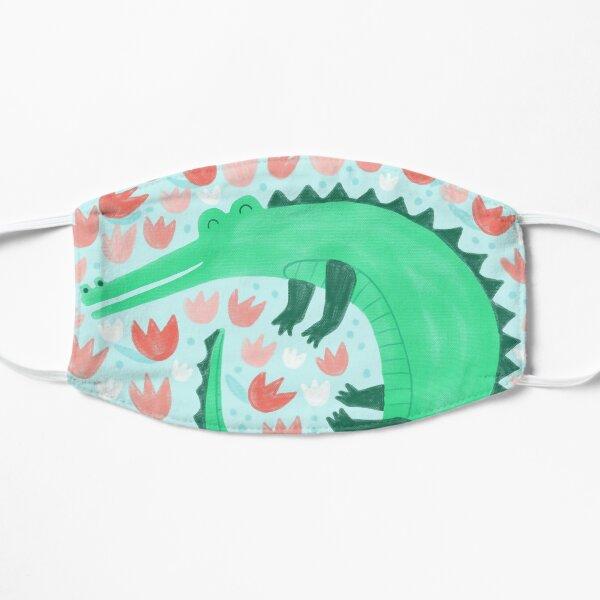 Alligator Loves Tulips Mask
