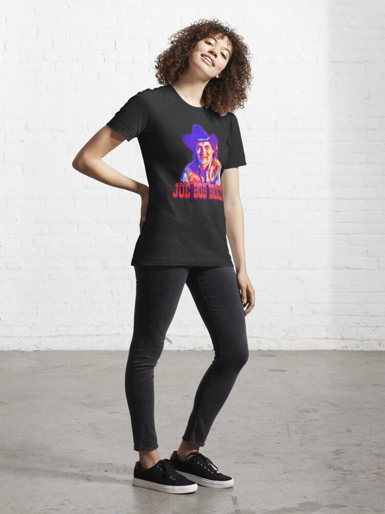 Alternate view of Joe Bob Briggs Horror icon Essential T-Shirt