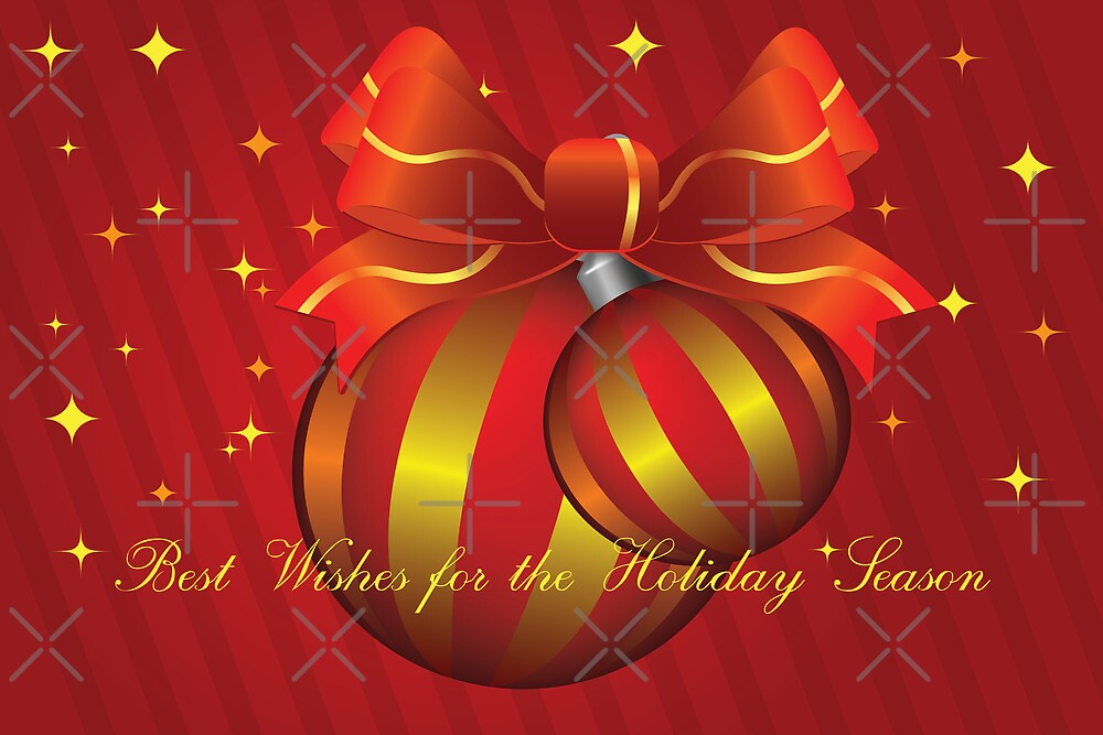 Best Wishes for the Holiday Season by Vickie Emms