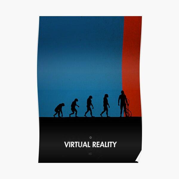 99 Steps of Progress - Virtual reality Poster
