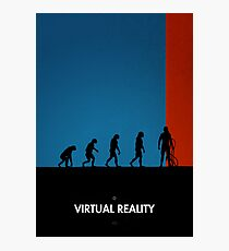 99 Steps of Progress - Virtual reality Photographic Print