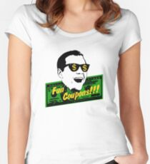 Fun Coupons! The Wolf of Wall Street Women's Fitted Scoop T-Shirt