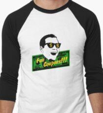 Fun Coupons! The Wolf of Wall Street Men's Baseball ¾ T-Shirt