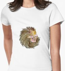 Sophie the Sleepy Hedgehog Women's Fitted T-Shirt