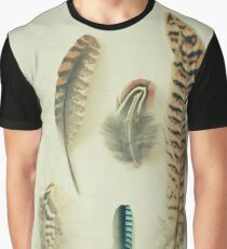 The Feather Collection Graphic T-Shirt
