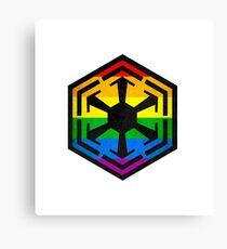 Rainbow Sith Canvas Print