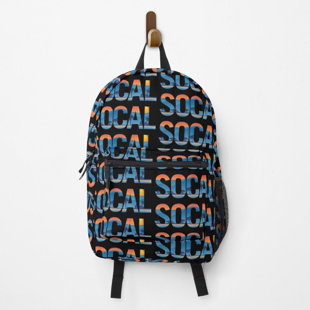 SOCAL Southern California Pride Illustration Backpack