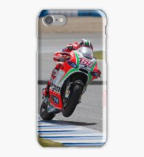 Nicky Hayden in Jerez 2012 iPhone Case/Skin