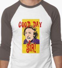 Good Day, Sir! Willy Wonka Men's Baseball ¾ T-Shirt