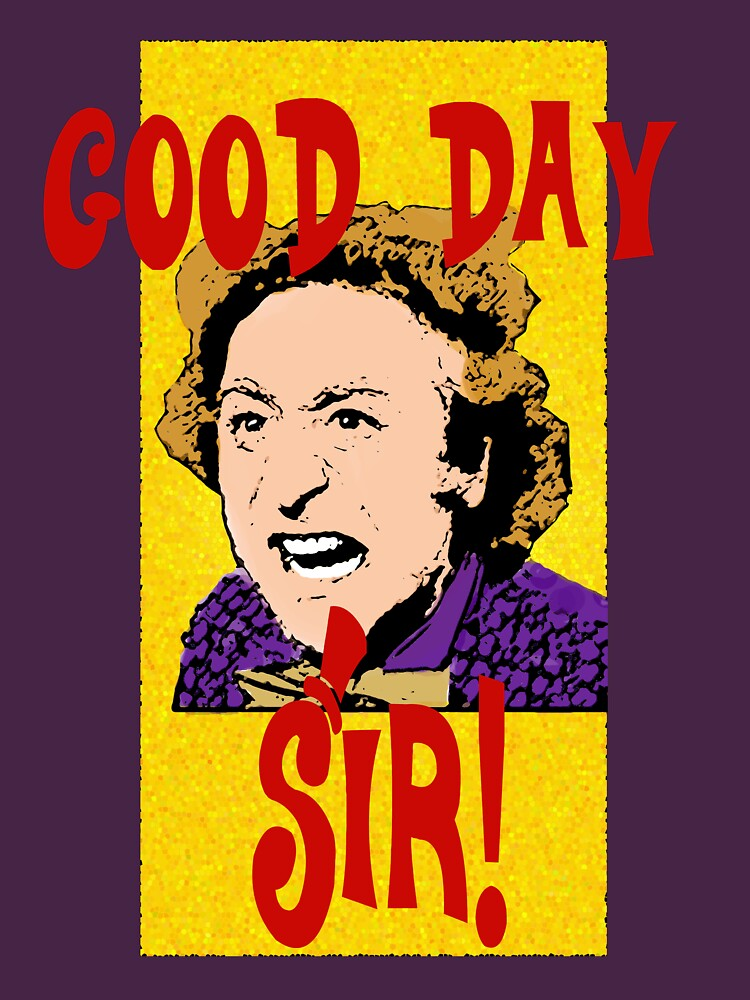 Good Day, Sir! Willy Wonka | Unisex T-Shirt