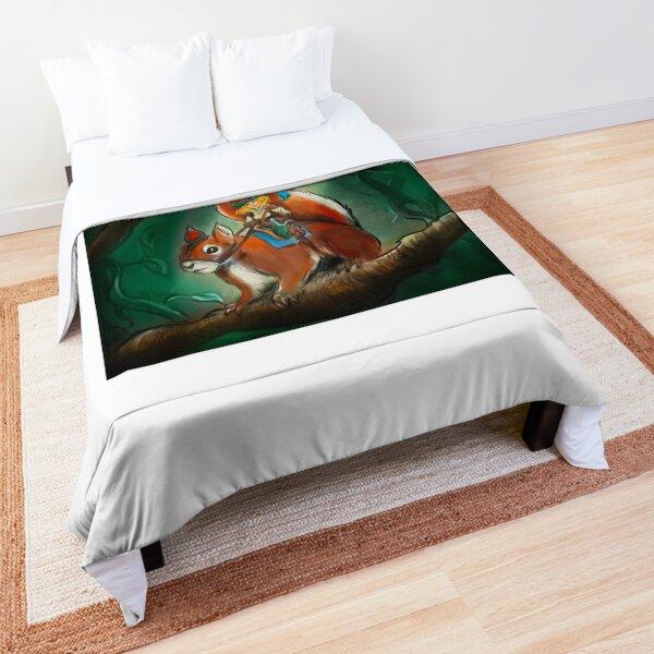 Squirrel Rider Comforter