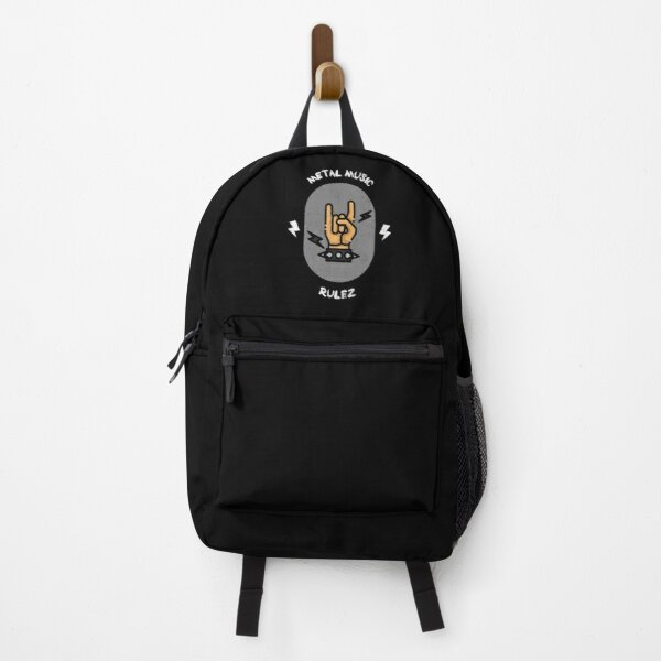 Metal Music Rulez Backpack