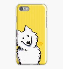 Samoyed Sunshine Stripes iPhone Case/Skin