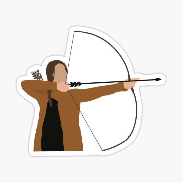 KATNISS EVERDEEN Hunger Games Sticker