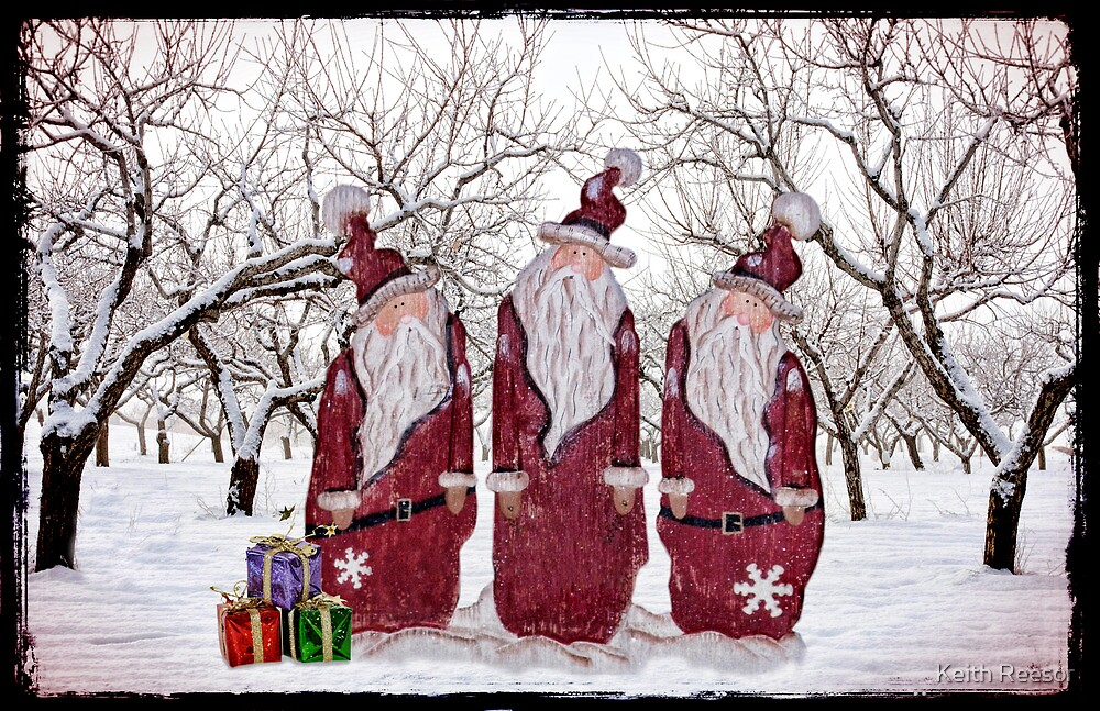 Santa's Little Helpers by Keith Reesor