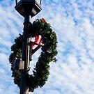 Bright Christmas Wreath by Sharlene Rens