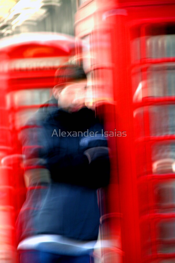 """London Phone Booth"" by Alexander Isaias"