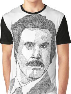 Ron Burgundy (Will Ferrell) Graphic T-Shirt