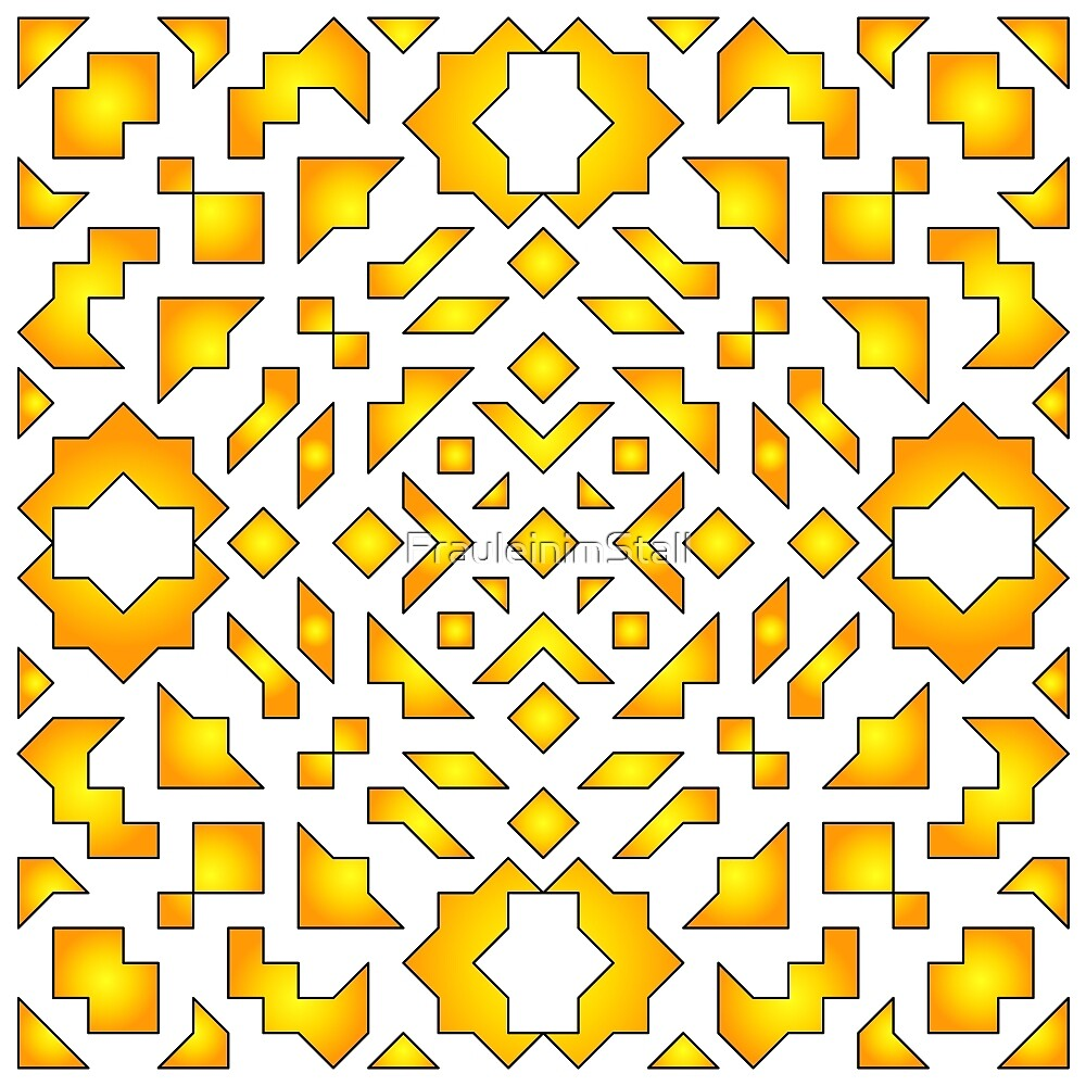 Geometric scribble by FrauleinimStall