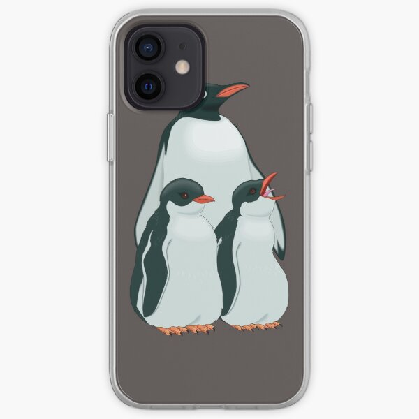 THE MOST BEAUTIFUL FAMILY OF PENGUINS iPhone Soft Case