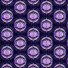 Lavender Circle - 8 by Aurapro Designs