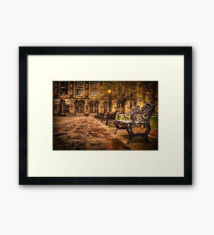 Glasgow University Quadrant Framed Print