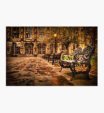 Glasgow University Quadrant Photographic Print
