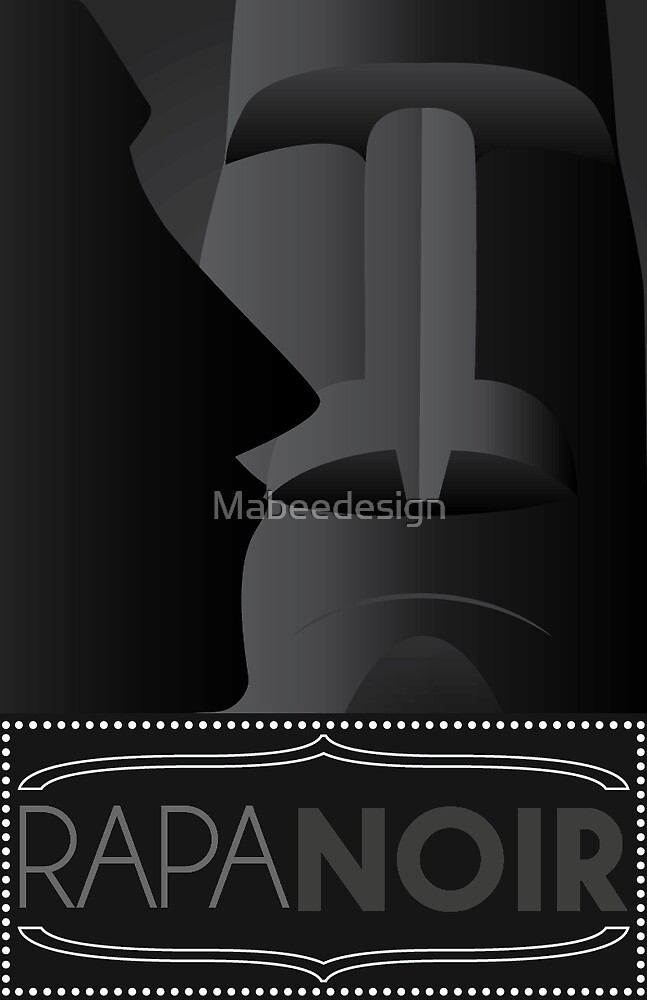 Rapa Noir by Mabeedesign