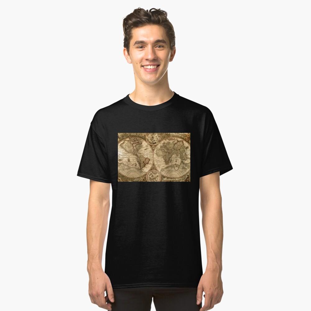 Alte Karte Classic T-Shirt