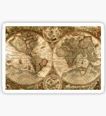 Ancient Map Sticker