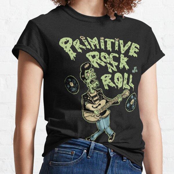 Rock'n roll primitif T-shirt classique