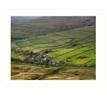 Cray in Wharfedale Art Print