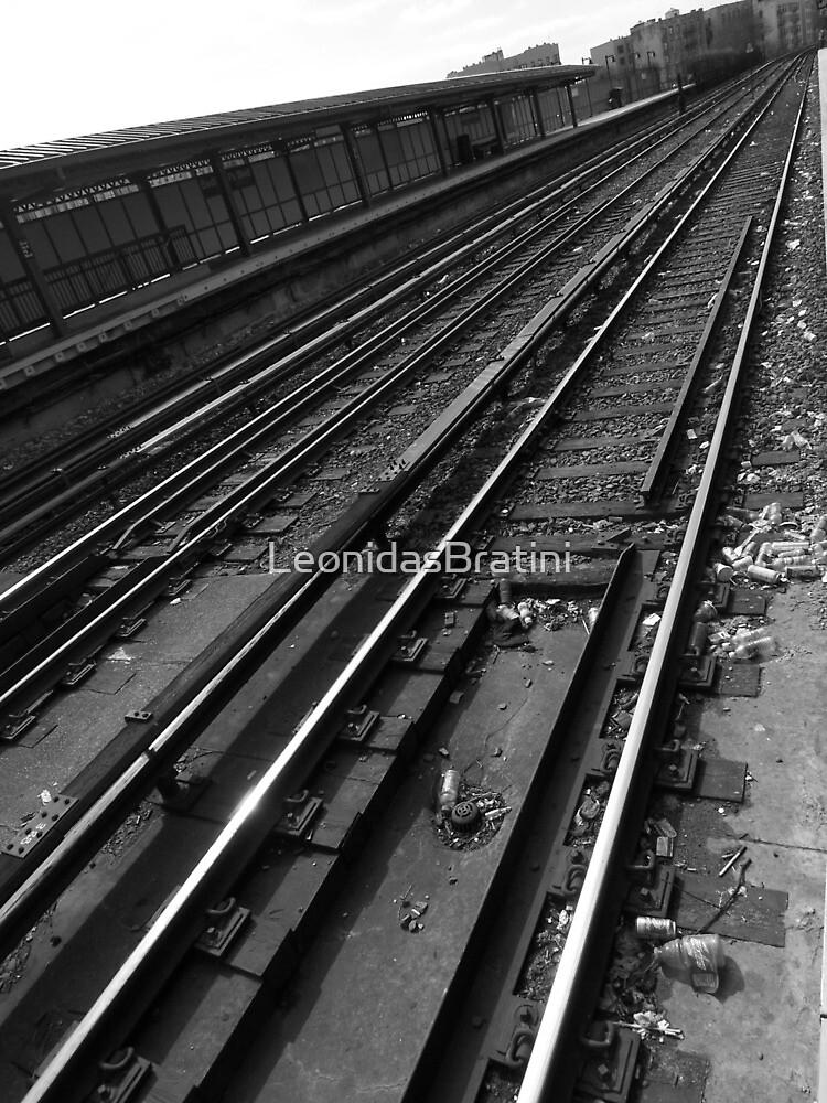 The Tracks in NYC by LeonidasBratini