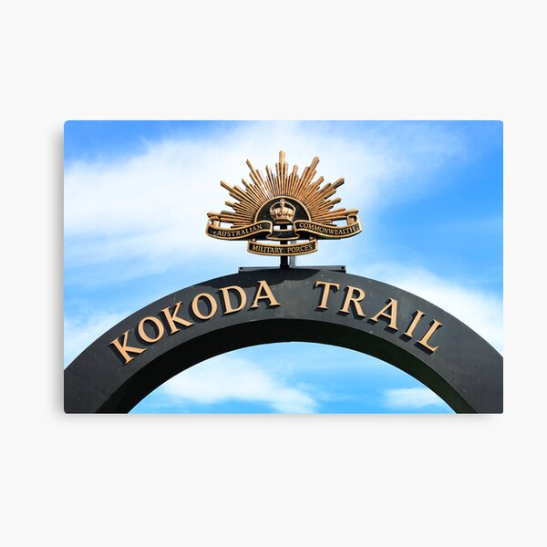 Kokoda Trail Arch Canvas Print