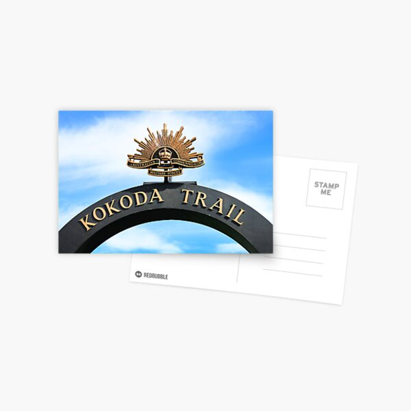Kokoda Trail Arch Postcard