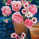 Peonies & Poppies by Donna Jill Witty