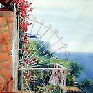 Positano Terrace by Donna Jill Witty