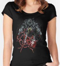 FullMetal Graffiti Women's Fitted Scoop T-Shirt