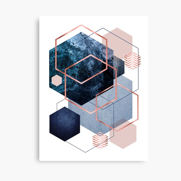 Abstract Geo Canvas Print