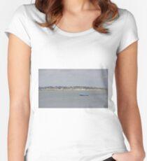 Little Blue Boat Women's Fitted Scoop T-Shirt