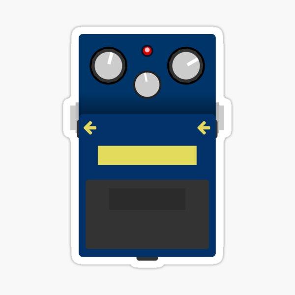 Blues Drive Pedal Sticker
