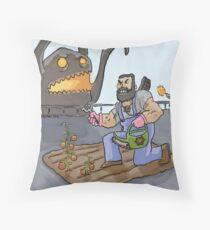An effing botanist Throw Pillow