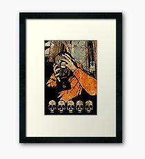 Leroy And The Five Dancing Skulls Of Doom Framed Print