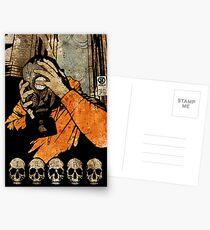 Leroy And The Five Dancing Skulls Of Doom Postcards