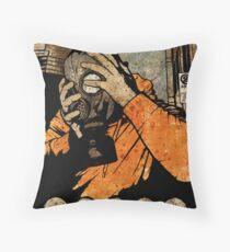 Leroy And The Five Dancing Skulls Of Doom Throw Pillow