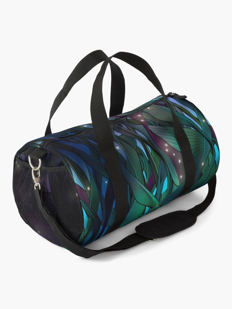 Alternate view of Nocturne (with Fireflies) Duffle Bag